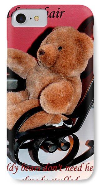 Teddy's Chair - Toy - Children Phone Case by Barbara Griffin