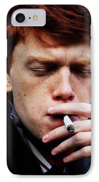 Teenager Smoking IPhone Case