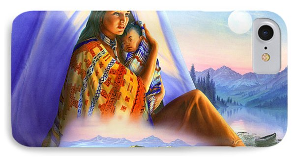 Teepee Of Dreams IPhone Case by Andrew Farley
