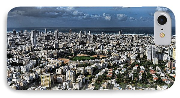 IPhone Case featuring the photograph Tel Aviv Center by Ron Shoshani