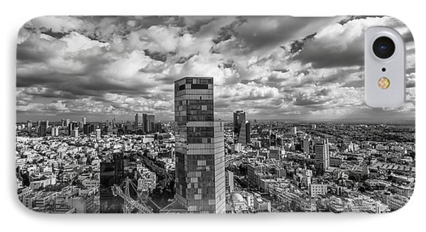 Tel Aviv High And Above IPhone Case