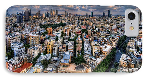 Tel Aviv Lookout Phone Case by Ron Shoshani
