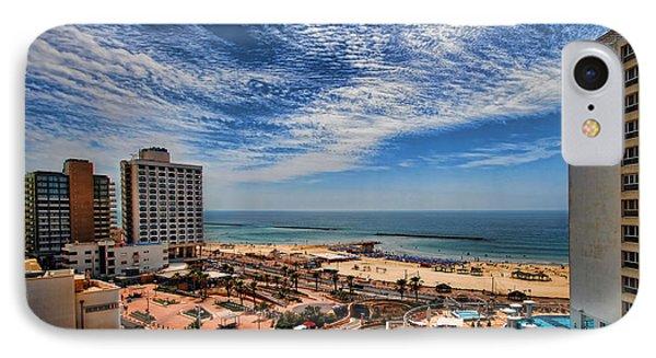 Tel Aviv Summer Time Phone Case by Ron Shoshani