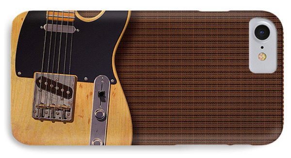 Telecaster Deluxe IPhone Case by WB Johnston