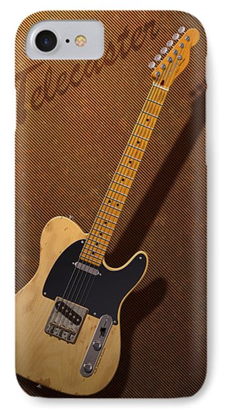 Telecaster Phone Case by WB Johnston