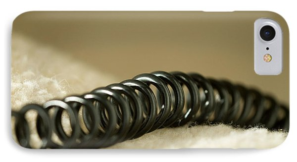 Telephone Cord IPhone Case by Celso Diniz