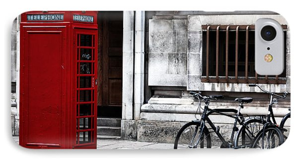 Telephone In London Phone Case by John Rizzuto