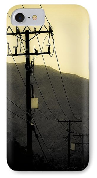 Telephone Pole 5 IPhone Case by Scott Campbell