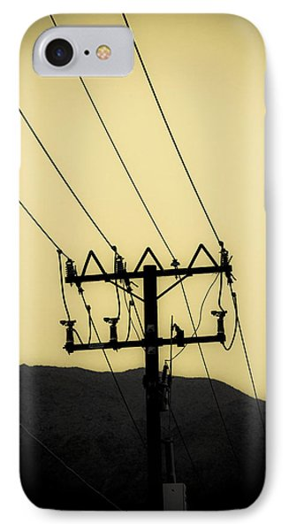 Telephone Pole 6 IPhone Case by Scott Campbell