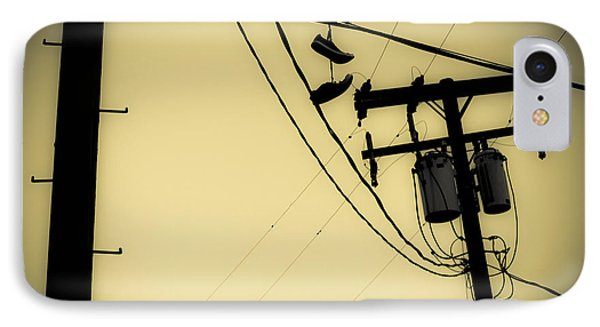 Telephone Pole 8 IPhone Case by Scott Campbell