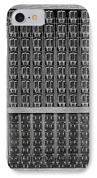 Telephone Switchboard IPhone Case