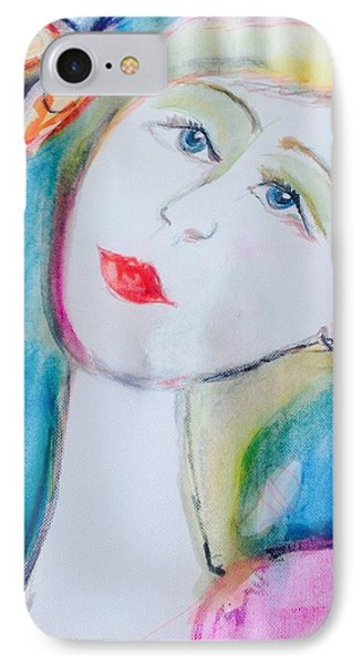 Tell It To The Butterfly  IPhone Case by Judith Desrosiers