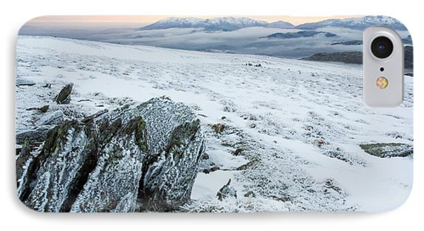 Temperature Inversion From Red Screes IPhone Case