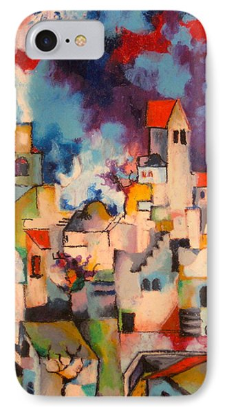 Templars' Colony Jerusalem Phone Case by Moshe BenReuven