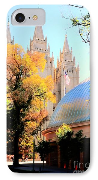 Temple And Tabernacle Phone Case by Kathleen Struckle
