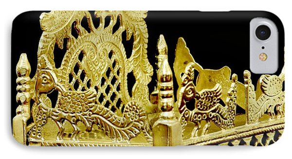 Temple Art - Brass Handicraft IPhone Case