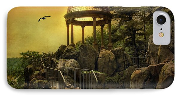 Temple At Dusk IPhone Case