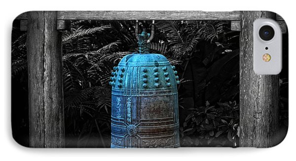 Temple Bell - Buddhist Photography By William Patrick And Sharon Cummings  IPhone Case by Sharon Cummings