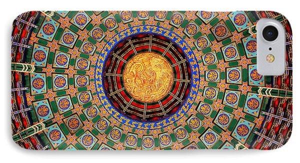 Temple Ceiling IPhone Case by Lisa L Silva