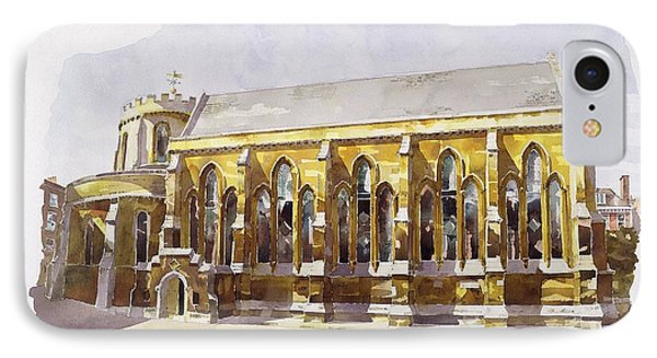 Temple Church IPhone Case by Annabel Wilson