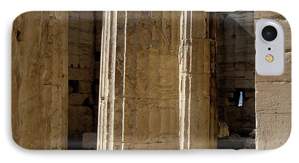 Temple Columns With Window Peek IPhone Case