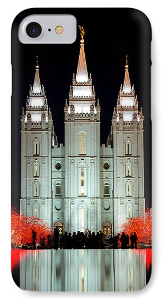 Temple Lights IPhone Case
