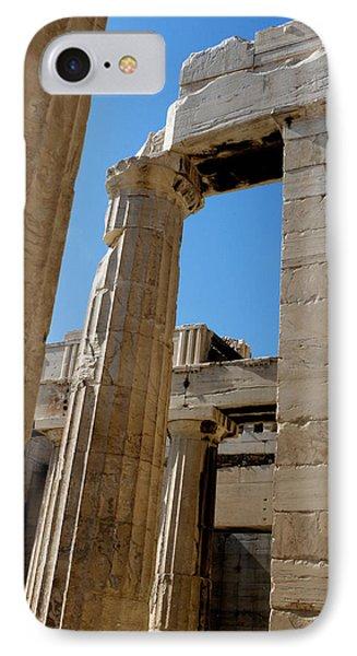 Temple Maze Of Columns IPhone Case