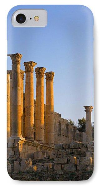 Temple Of Artemis, Ancient Jerash IPhone Case