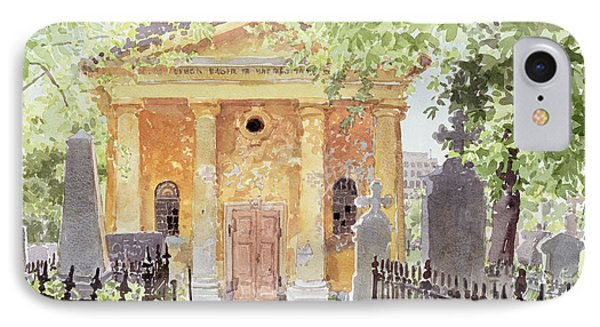 Temple Of Harmony, Vesprem, Hungary, 1996 Wc On Paper IPhone Case