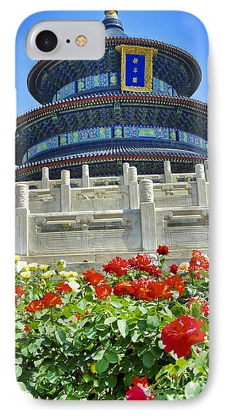 IPhone Case featuring the photograph Temple Of Heaven  by Sarah Mullin