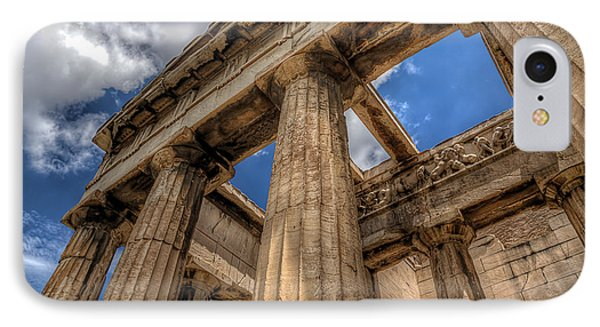 IPhone Case featuring the photograph Temple Of Hephaestus by Micah Goff