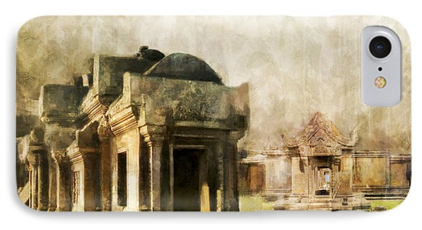 Temple Of Preah Vihear Phone Case by Catf