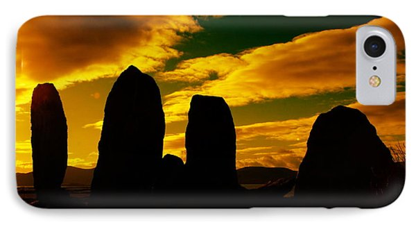 Temple Of The Ancients Phone Case by Aidan Moran