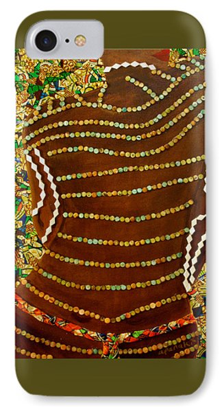 IPhone Case featuring the tapestry - textile Temple Of The Goddess Eye Vol 2 by Apanaki Temitayo M