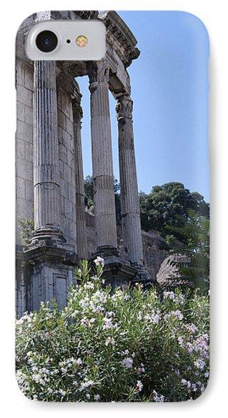 Temple Of Vesta IPhone Case