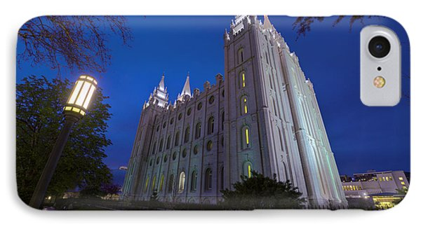 Temple Perspective IPhone Case by Chad Dutson