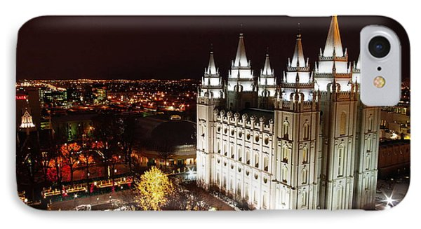 Temple Square IPhone Case