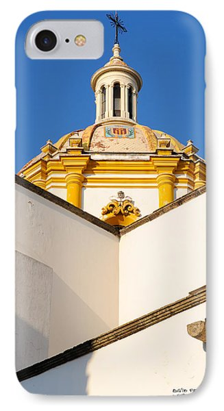 IPhone Case featuring the photograph Templo De La Merced Guadalajara Mexico by David Perry Lawrence