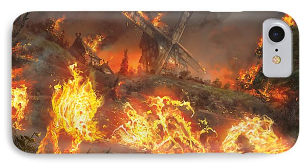 Tempt With Vengeance IPhone Case by Ryan Barger