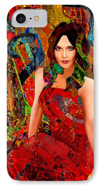 Temptation IPhone Case by Jann Paxton