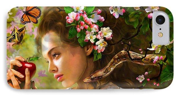 Temptation Of Eve Phone Case by Drazenka Kimpel