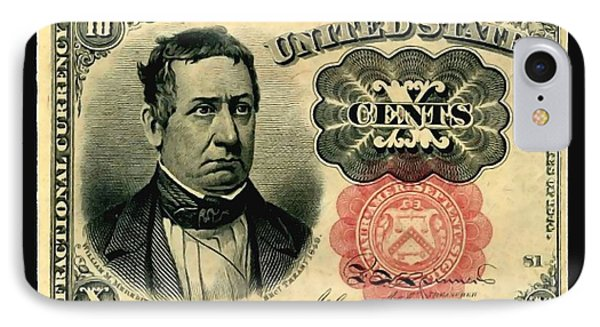 Ten Cents 5th Issue U.s. Fractional Currency Fr 1266 IPhone Case