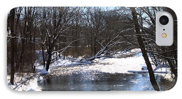 Ten Mile River Phone Case by Barbara Giordano