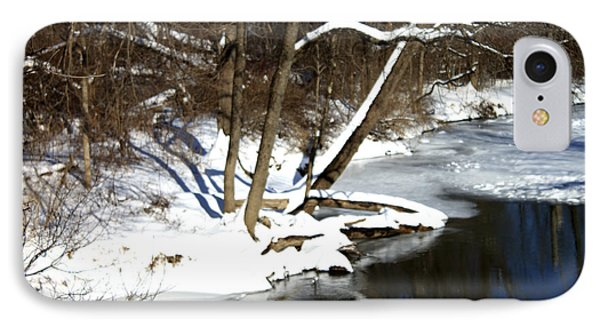 Ten Mile River Ne View IPhone Case by Barbara Giordano