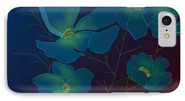 IPhone Case featuring the digital art Tender Cosmos by Latha Gokuldas Panicker