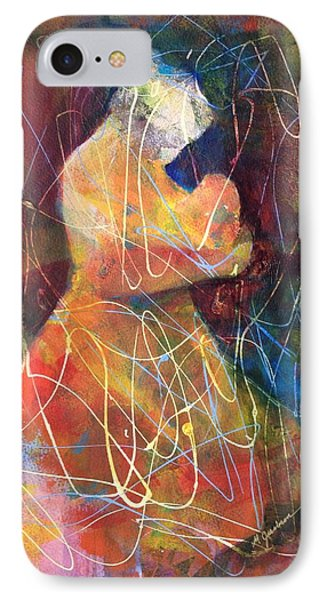 Tender Moment Phone Case by Marilyn Jacobson