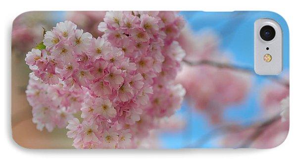 Tender Whisper. Pink Spring In Amterdam Phone Case by Jenny Rainbow