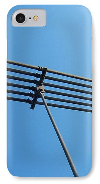 IPhone Case featuring the photograph Tendu Sur Le Ciel by Marc Philippe Joly