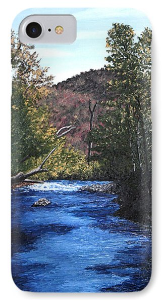 Tennessee A River Through The Woods IPhone Case by Beth Parrish