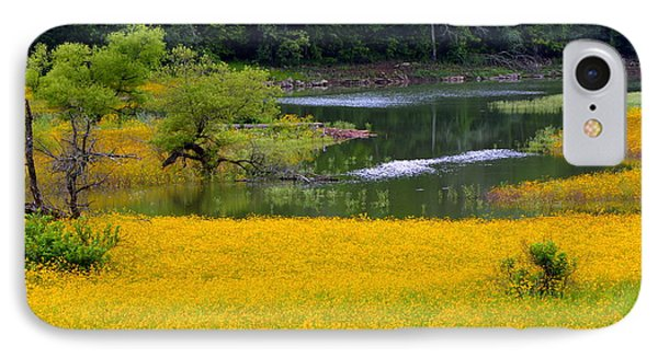 Tennessee Black-eyed Susan Field IPhone Case by Kathy Barney